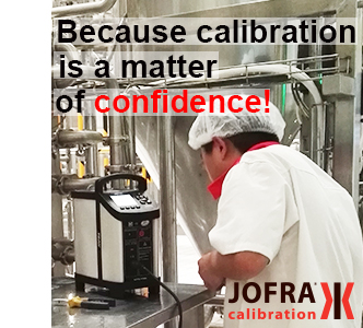 JOFRA dry-block temperature calibrators for the food and beverage industry