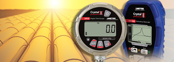 Hydrostatic Pressure Tests with the XP2i Digital Pressure Gauge