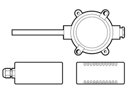 1814-2304 Series Temperature Sensor